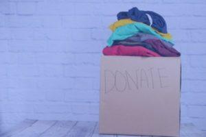 ADRA donación de ropa